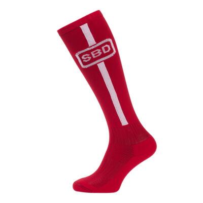 2019-es nyári limitált felhúzó zokni (piros-fehér)