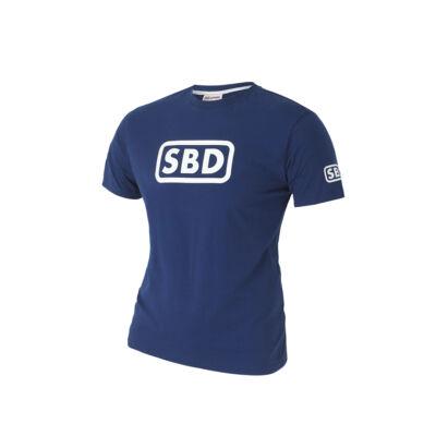 2019-es nyári limitált férfi póló (kék-fehér)