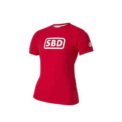2019-es nyári limitált férfi póló (piros-fehér)