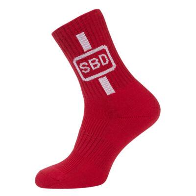 2019-es nyári limitált sport zokni (piros-fehér)