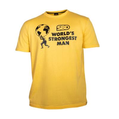 WSM férfi póló 2021 (sárga)