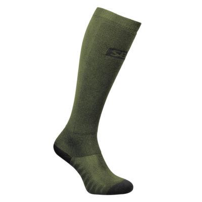 Endure zöld felhúzó zokni