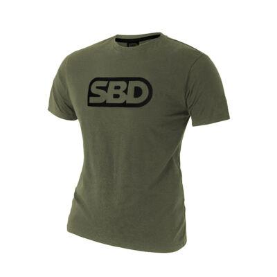 Endure férfi zöld póló