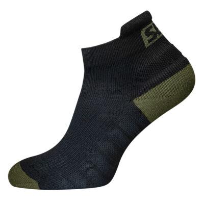 Endure fekete edző zokni