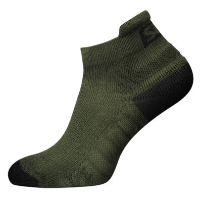 Endure zöld edző zokni